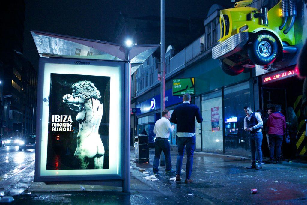 Bus Stops Ads   Brandalism